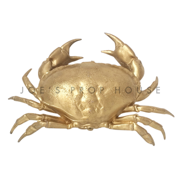 Gold Crab L13in