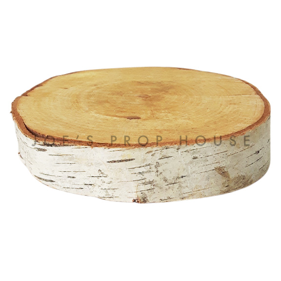 Birch Tree Slice Slab SMALL