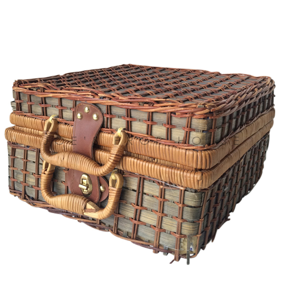 Nellie Square Wicker Picnic Basket