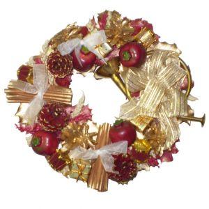 BUY ME / USED ITEM Pomegranate & Acorn Wreath