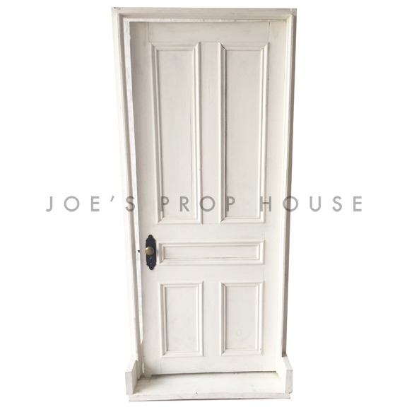 Estelle Vintage Self-Standing Door Ivory