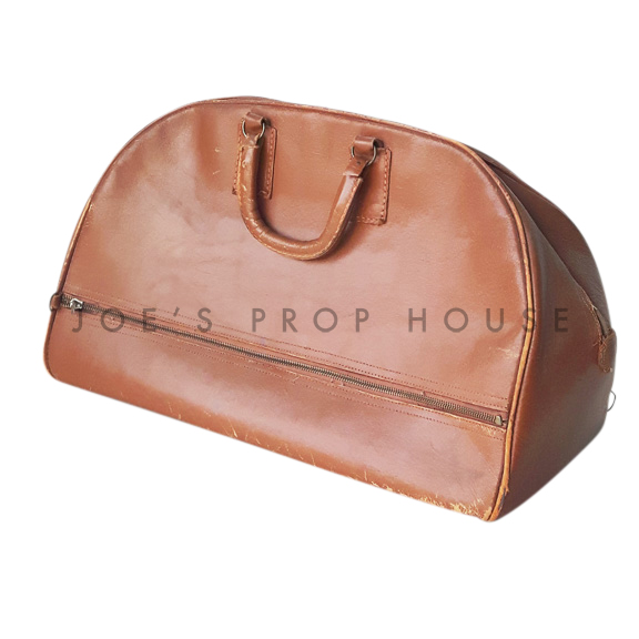 Lowell Demi-Lune Softshell Carry On Suitcase Brown