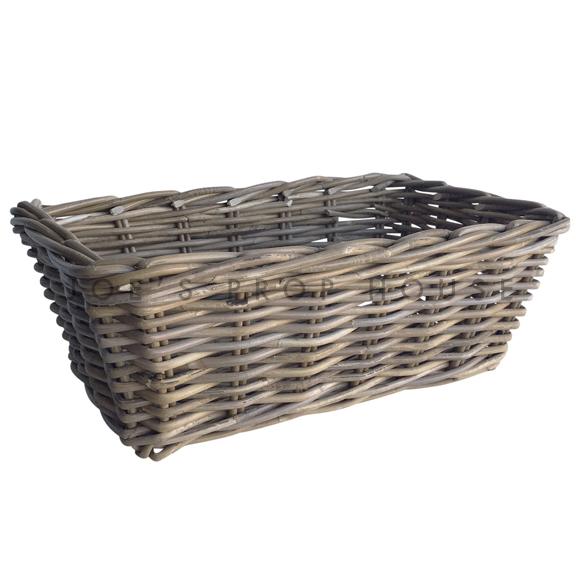 Gibben Rectangular Wicker Basket