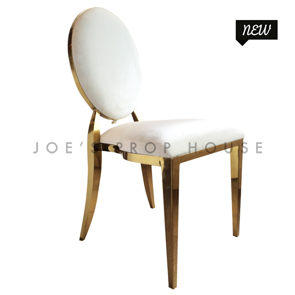Versailles Ivory Velour Dining Chair