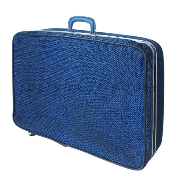 Bridwell Fabric Softshell Suitcase Blue LARGE