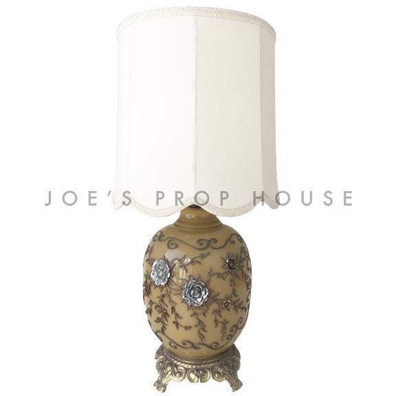 Izadora Floral Table Lamp