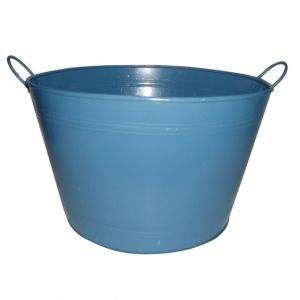 Blue Metal Bucket