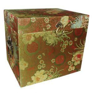 SALE ITEM Japanese Silk Fabric Box