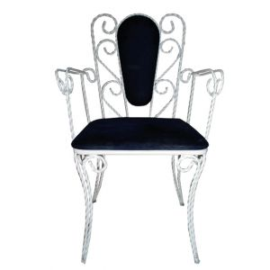 Alice Wrought Iron Armchair
