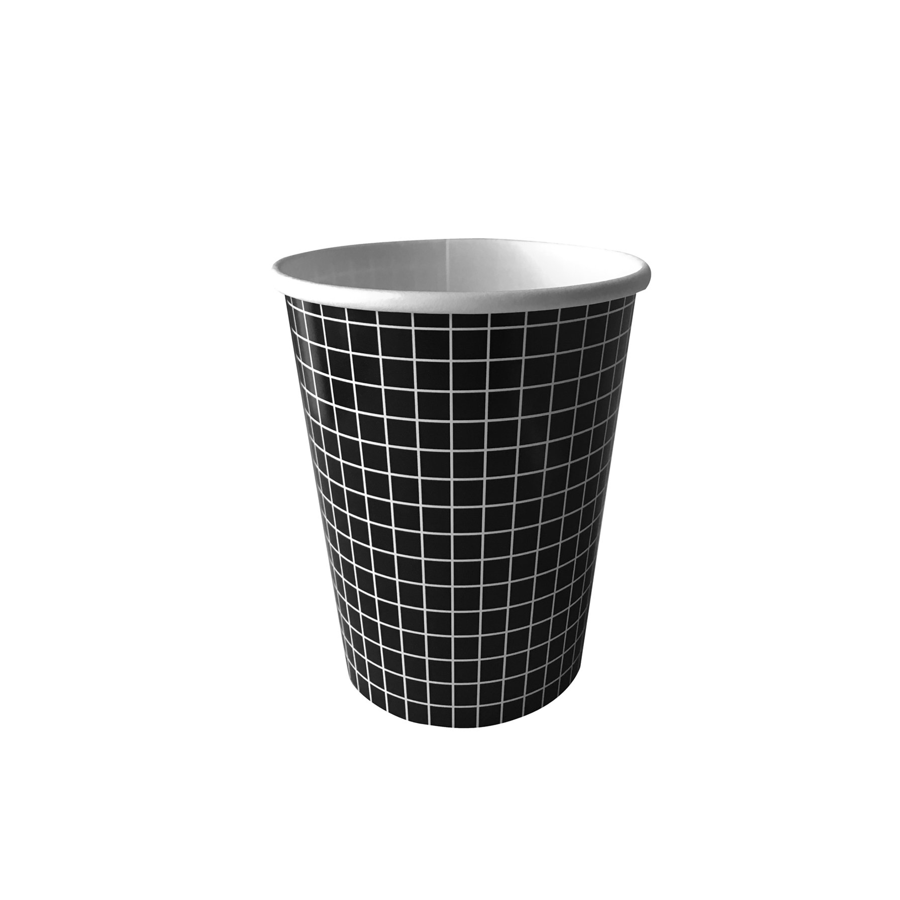 BUY ME / NEW ITEM $6.99 each Black & White Grid Paper Cups - 10 Pack