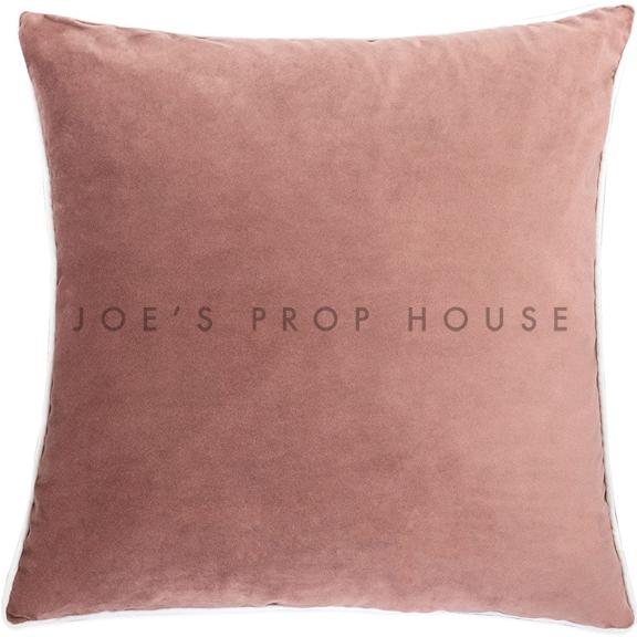Blush Velvet Accent Pillow