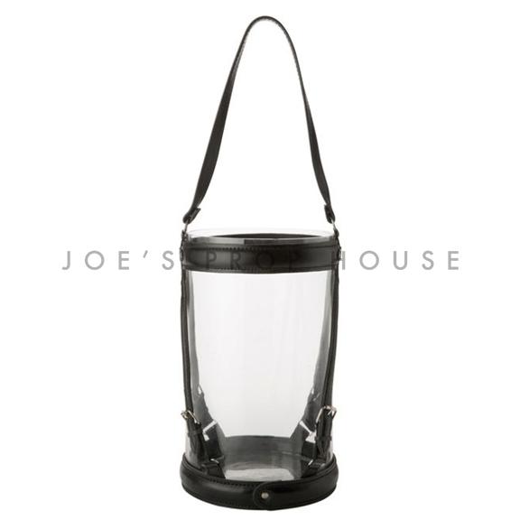 BUY ME / USED ITEM $15.99 each Leather Strap Hurricane Lantern Large