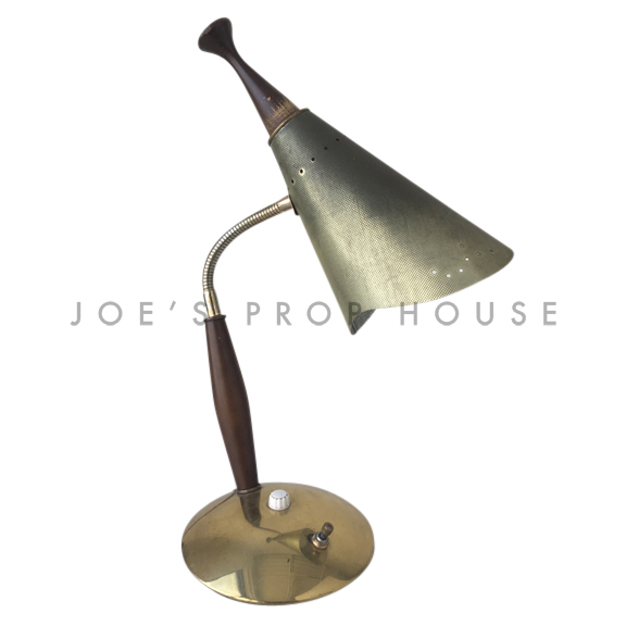 Wally MATTE Cone Gooseneck Desk Lamp