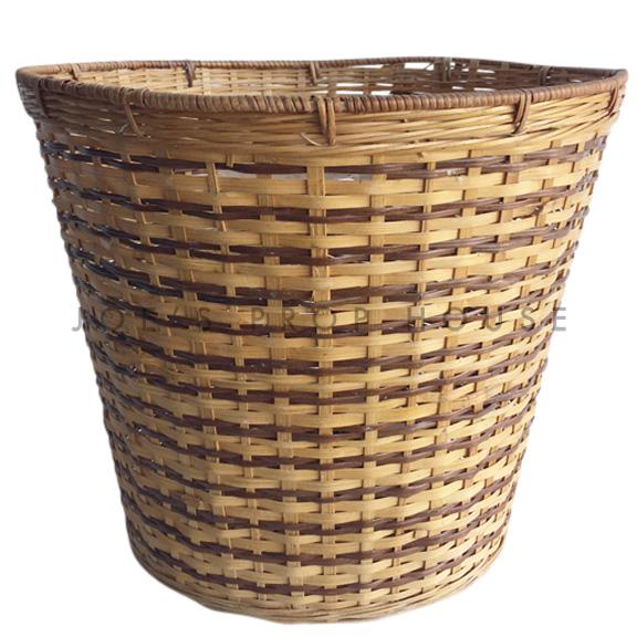 Bessie Round Wicker Basket