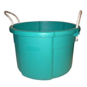 Turquoise Plastic Bucket