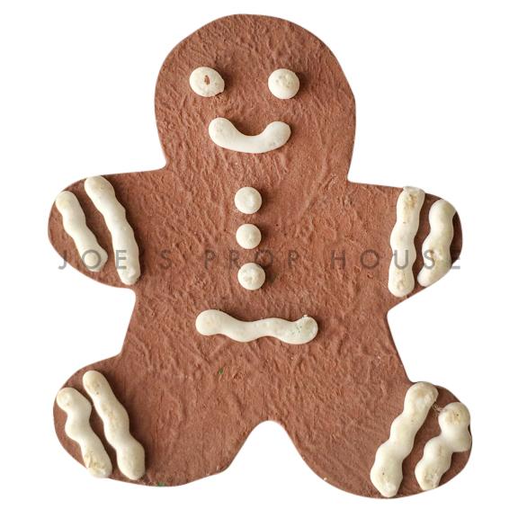 BUY ME / USED ITEM $5.99 each Gingerbread Man Cookie Dessert Prop