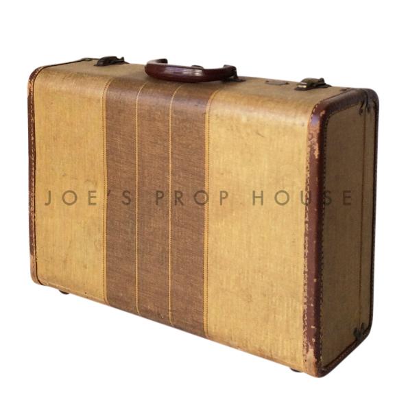 Donovan Three Stripe Hardshell Suitcase SMALL