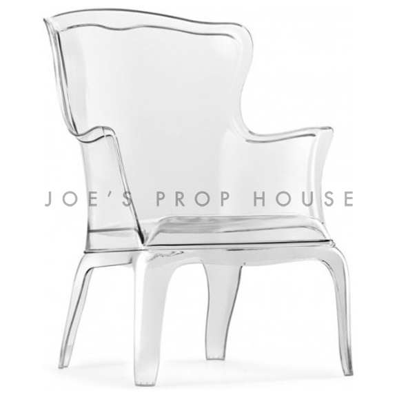 BUY ME / USED ITEM $595.00 each Jules Queen Armchair Clear White Cushion