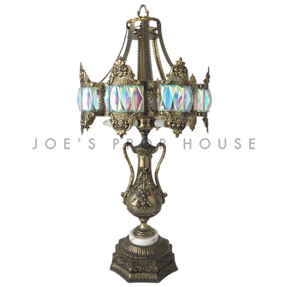 Damas Ornate Gold Table Lamp