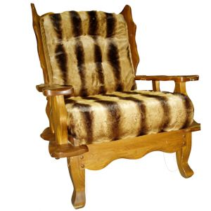 Faux-Fur Armchair