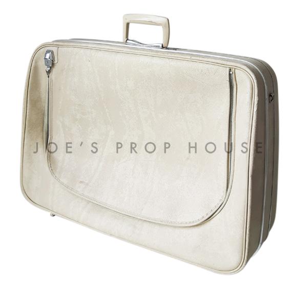 Renette Softshell Suitcase Ivory LARGE