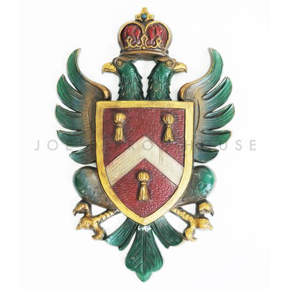 Wall Mount Eagle Royal Crest