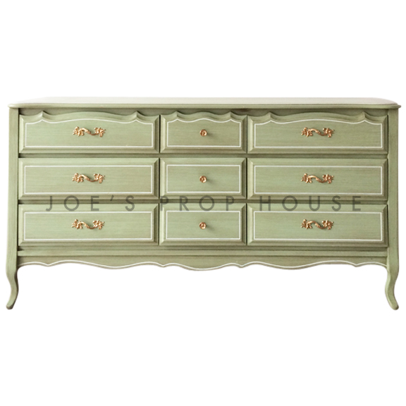 Williamsberg Sideboard w/Drawers Mint Green