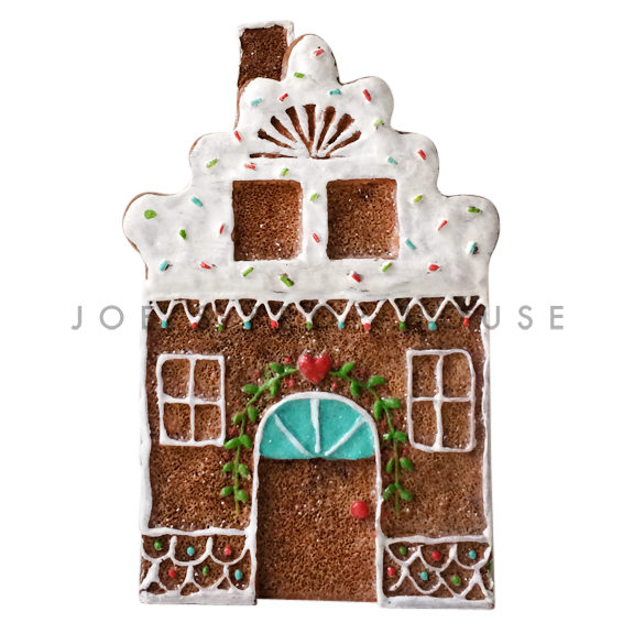 BUY ME / USED ITEM $14.99 White Roof Gingerbread House