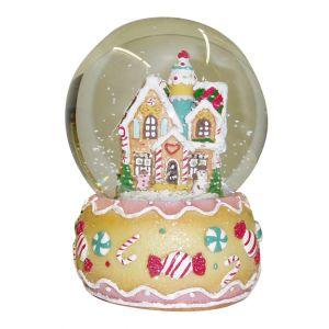 BUY ME / USED ITEM $14.99 Gingerbread House Snow Globe