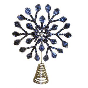 BUY ME / USED ITEM $10.99 each Blue Snowflake Tree Topper