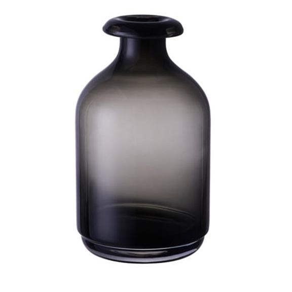 BUY ME / USED ITEM $5.99 each  Adele Smokey Black Vase SHORT H7in